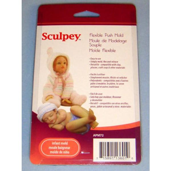 Sculpey Flexible Push Mold - Infant