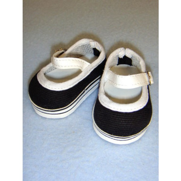"Shoe - Everyday Canvas - 2 3_4"" Black"