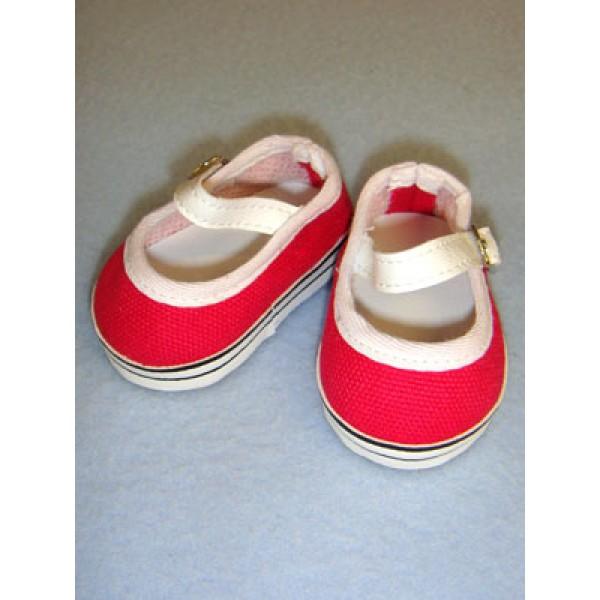 """Shoe - Everyday Canvas - 2 3_4"""" Dark Pink"""