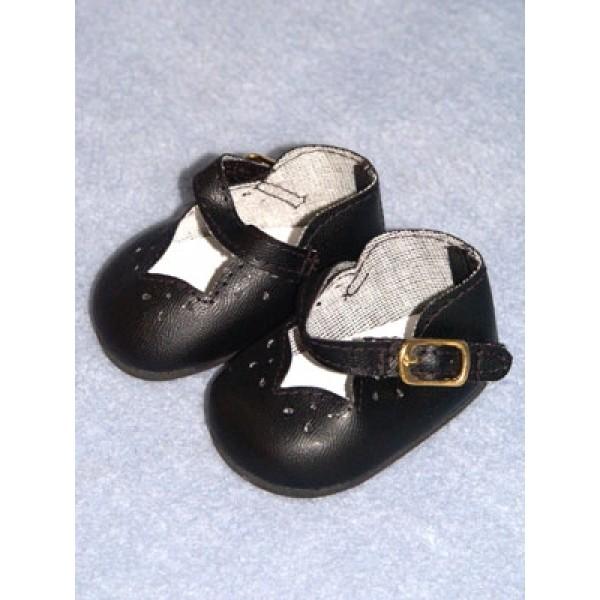 "Shoe - Girls Dress - 2 3_4"" Black"