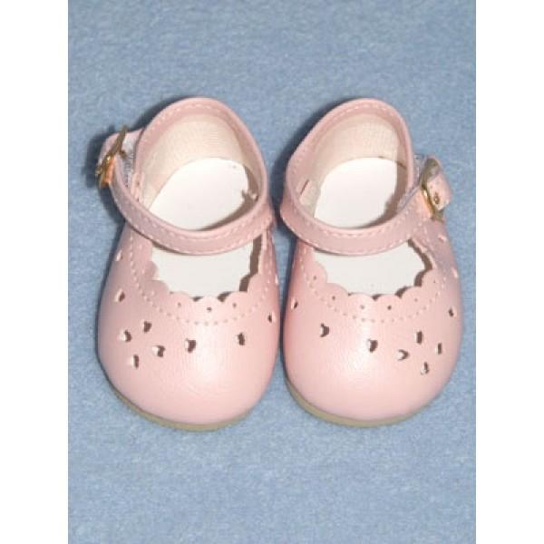 "Shoe - Heart-Cut Baby - 2 7_8"" Pink"