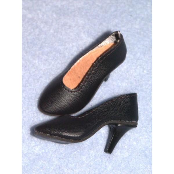 "|Shoe - Luvable High Heel - 2 5_8"" Black"