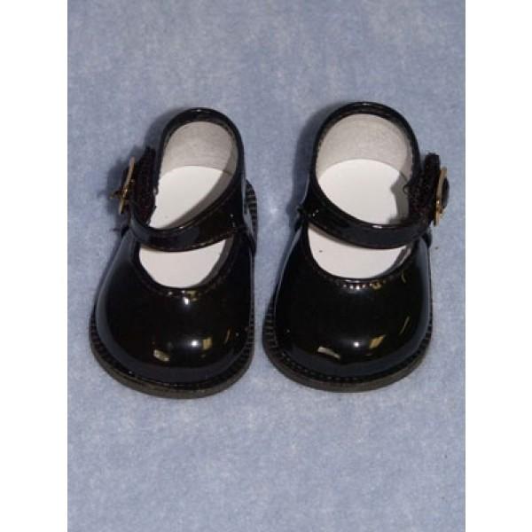"Shoe - Mary Jane - 3"" Black Patent"