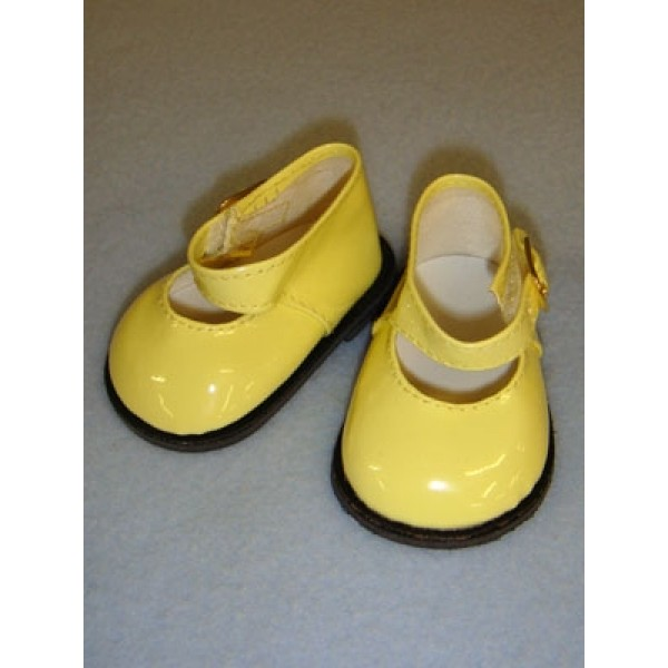 "Shoe - Mary Jane - 3"" Yellow Patent"