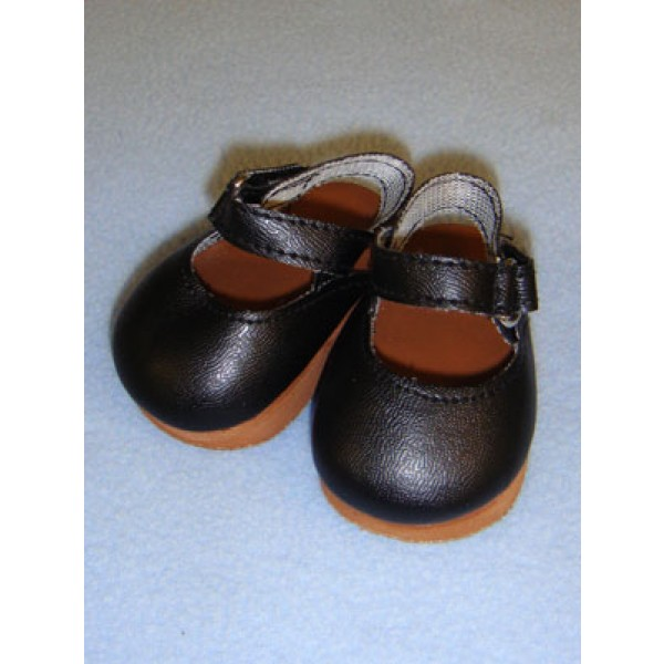 "Shoe - Mary Jane Clogs - 3"" Black"