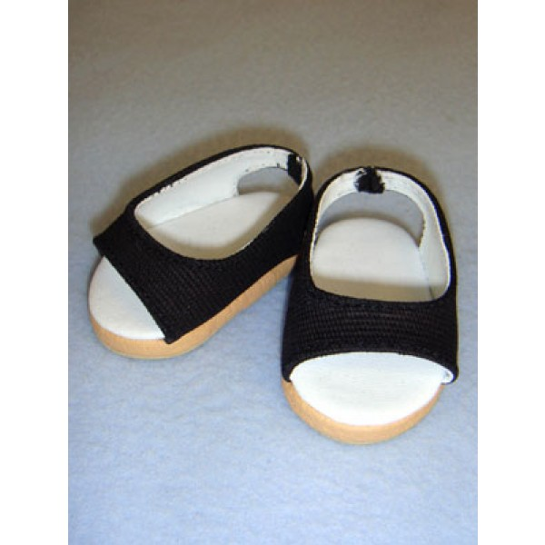 "Shoe - Pretty Wedge - 2 3_4"" Black"