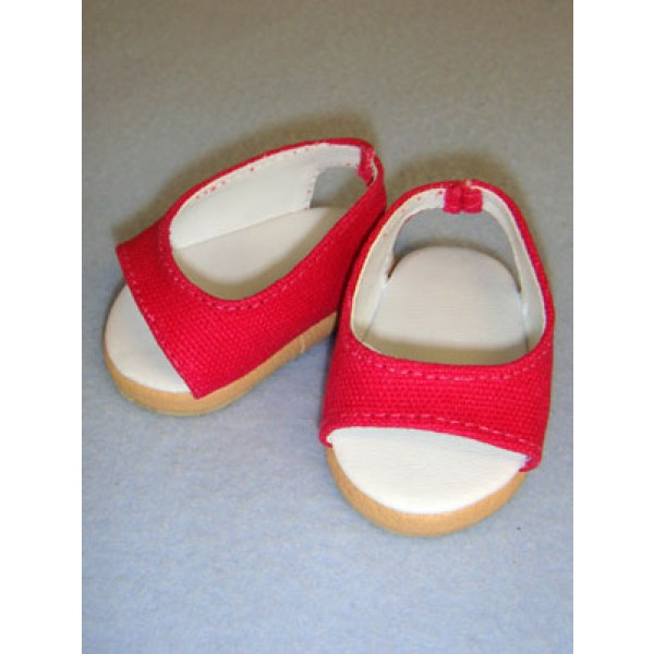 "Shoe - Pretty Wedge - 2 3_4"" Dark Pink"
