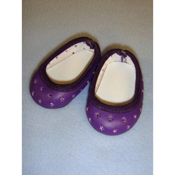 "Shoe - Super Star Slip-On - 2 3_4"" Dark Purple"