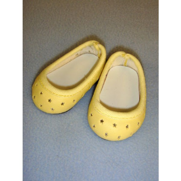 "Shoe - Super Star Slip-On - 2 3_4"" Yellow"