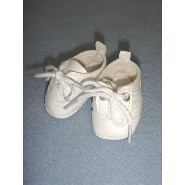 "Shoe - Tennis - 2 1_8"" White"