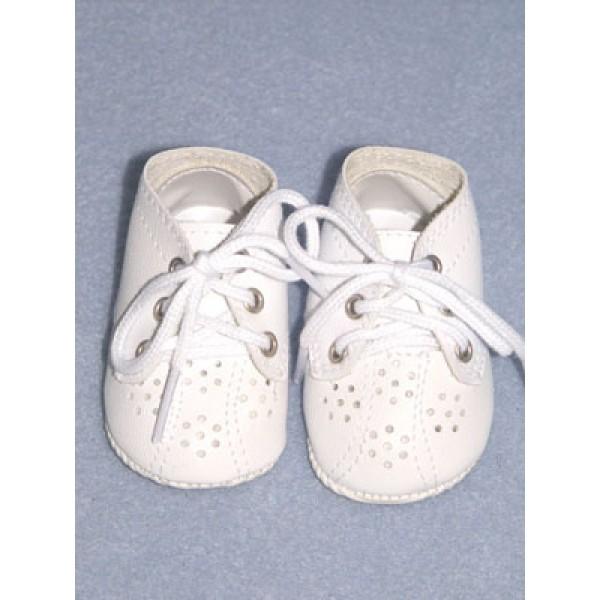 """Shoe - Toddler - 3 3_8"""" White"""