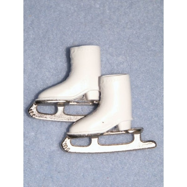 "Skates - Barbie Ice - 1 1_8"" White"