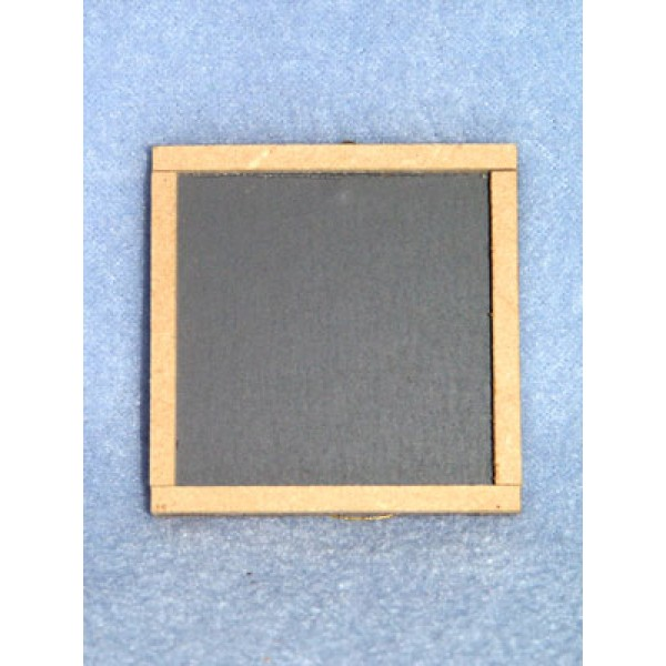 "lSlate Chalkboard - 2"" Square"