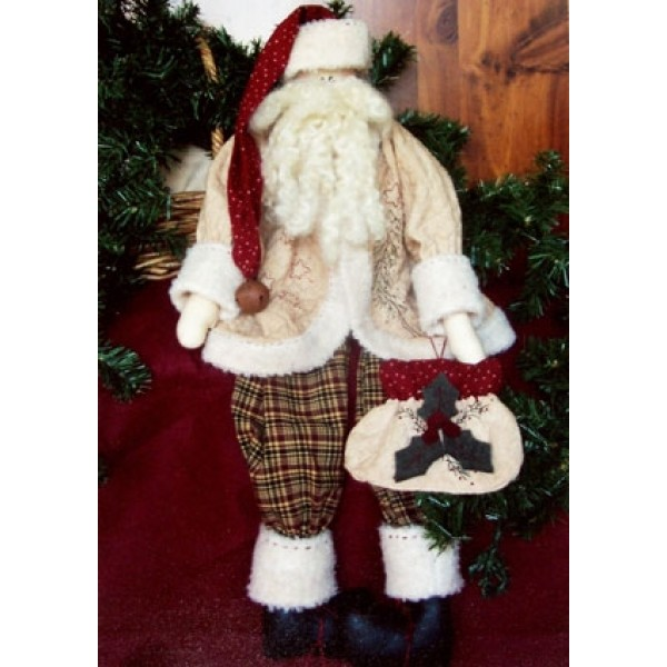 Stitchery Santa Pattern