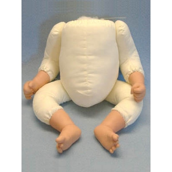"Stuffed Body with Arms and Legs for 19"" Dolls"