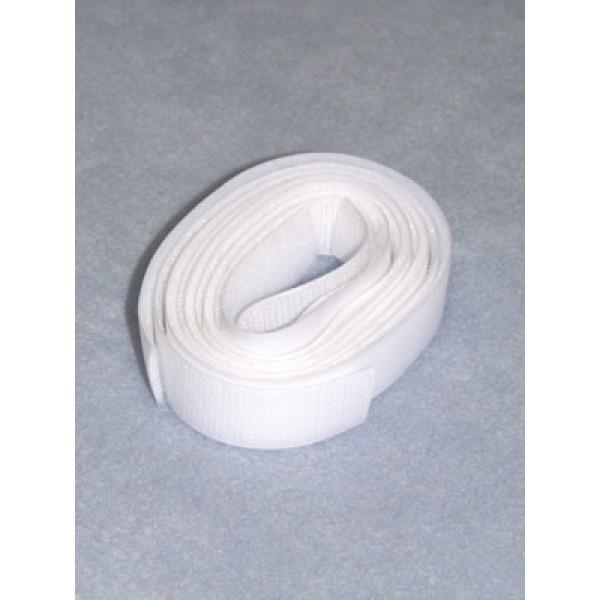 "Velcro - 3_4"" White - 1 Yd"