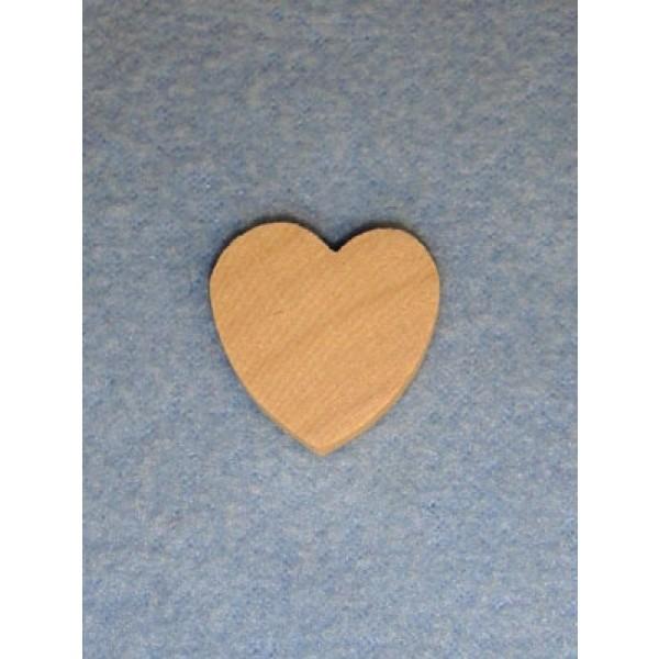 """Wood - Hearts - 1"""""""