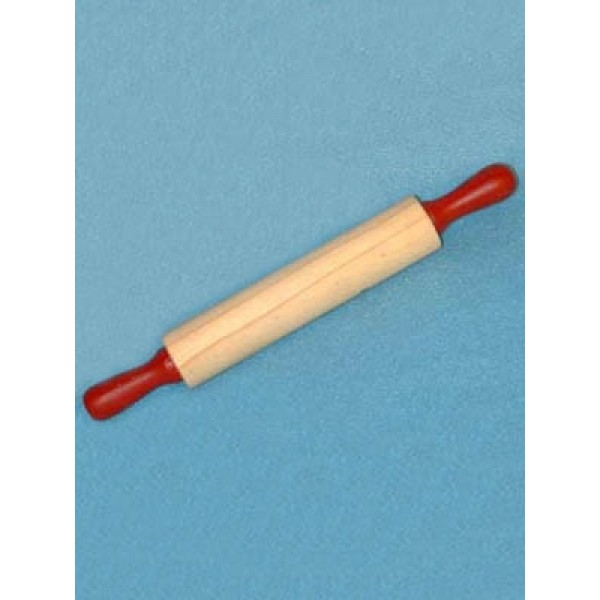 Wood - Rolling Pin w_Red Handles - 5