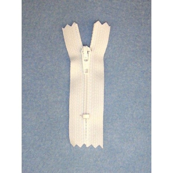 "Zipper - Doll - 2"" White"
