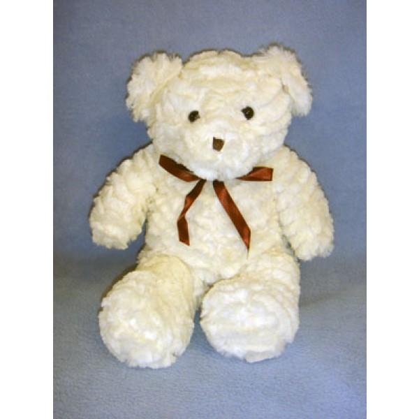 "|10"" Plush Sitting Cream Bear"