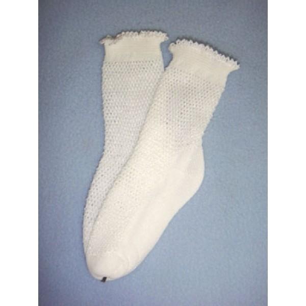 """ Anklet - 15-18"""" White (2)"""