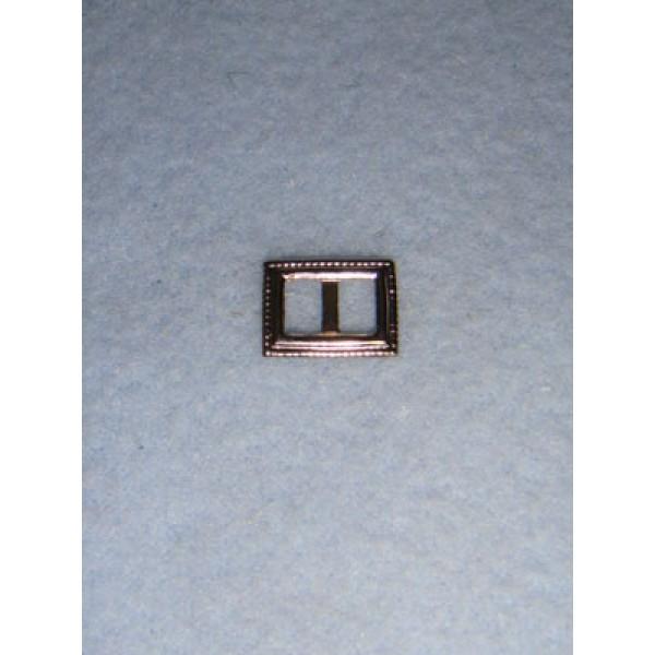 |Buckle - Decorative Rectangular Silver