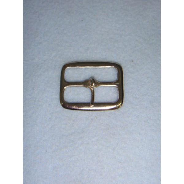 |Buckle - Plain Rectangle Nickel