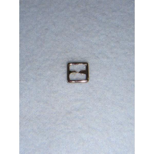 |Buckle - Plain Square Silver