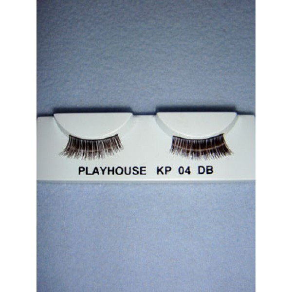 |Eyelashes - Angled - Dark Brown