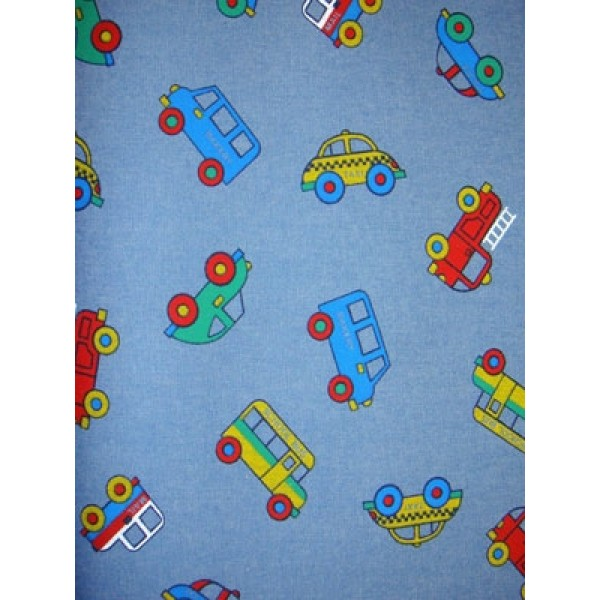 |Fabric - Truck Denim - Denim Blue
