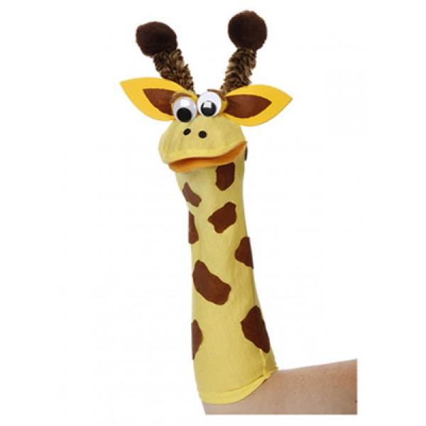  Giraffe Sock Friends Puppet Kit