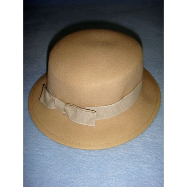 "|Hat - 100% Wool - 17"" Beige"
