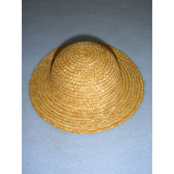 "|Hat - Straw - 8"" Natural"