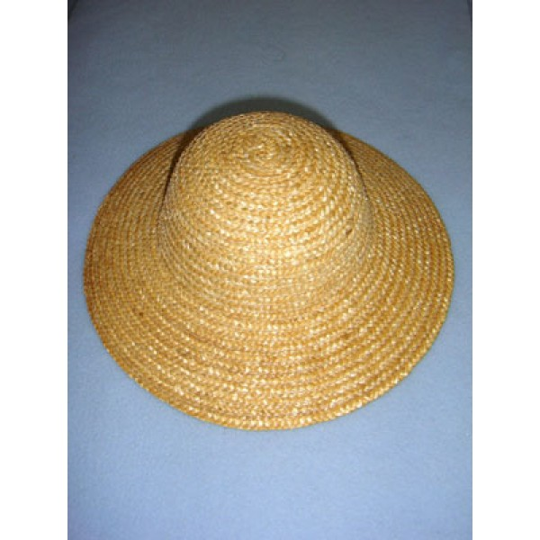""" Hat - Straw - 9 1_2"""" Natural"""