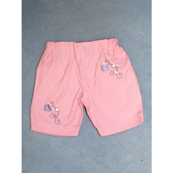 "|Pink Capris - 19"" Doll"