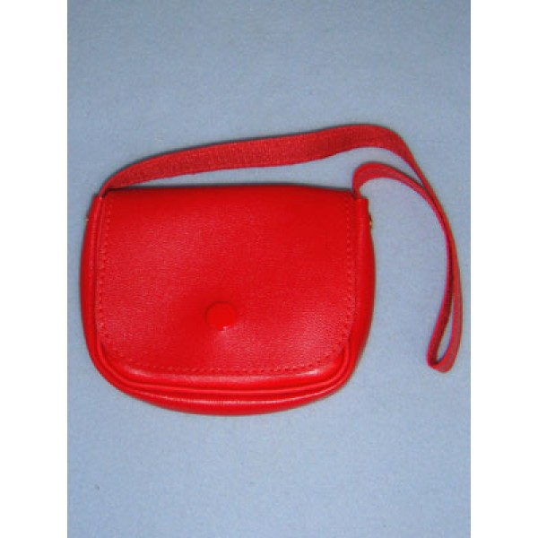 "|Doll Purse - 3 3_4"" Red"