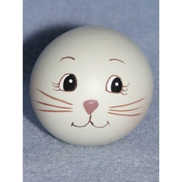 "|Resin-Painted Head -1"" Rabbit"