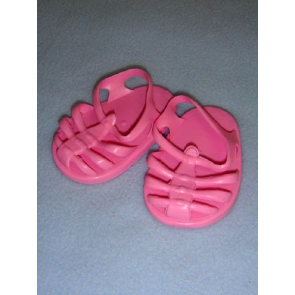 "|Sandal - Jellies - 2 3_4"" Pink"