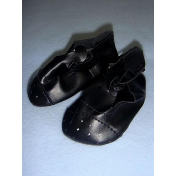 "|Shoe - Ankle T-Strap - 4"" Black"