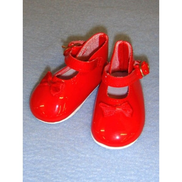 "|Shoe - Mary Jane - 3 1_2"" Red"
