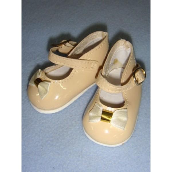 " Shoe - Mary Jane - 3 3_4"" Ecru"