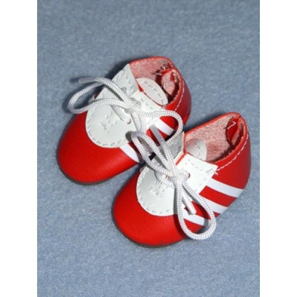 " Shoe - Tennis - 2"" Red_White"