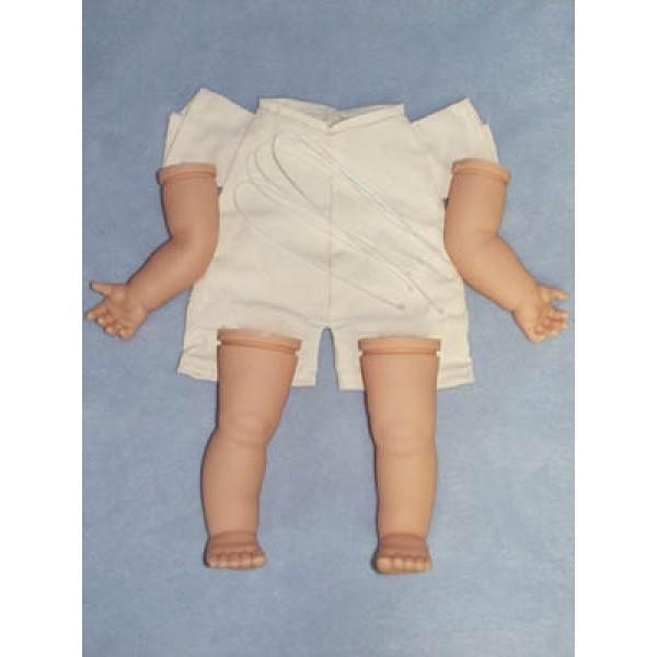 " Toddler Body Pack - Translucent - 22"" Doll"