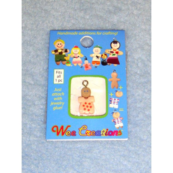 |WC Baby Charm - Tan Skin - Pink Outfit