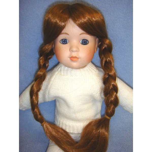 "|Wig - Braids - 9"" Brown"