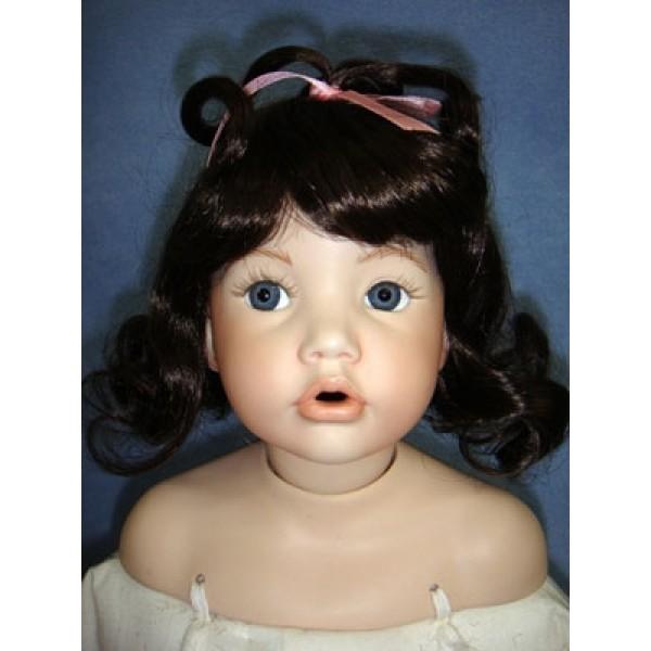 " Wig - Bubblee - 12-13"" Dark Brown"