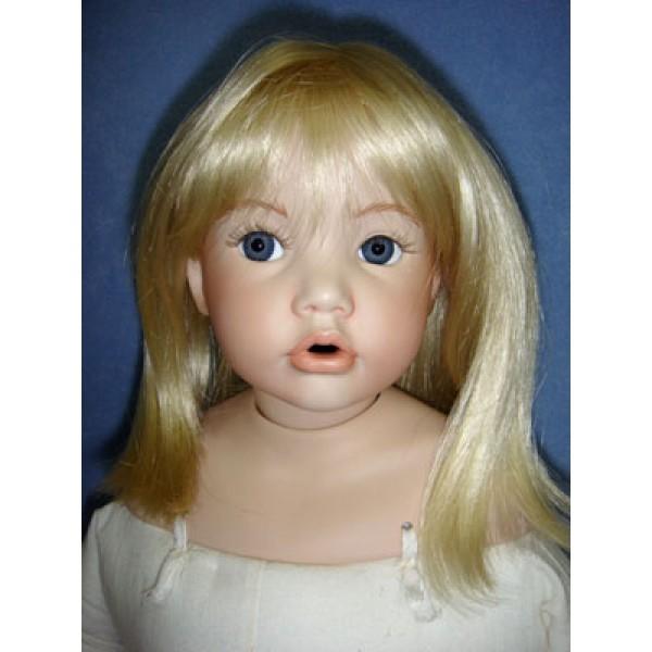 "|Wig - Chari - 7-8"" Pale Blond"