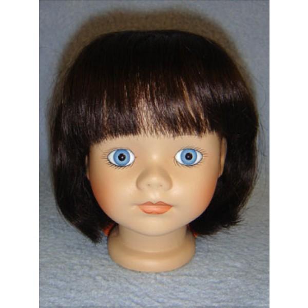 " Wig - Kimberly - 8-9"" Dark Brown"