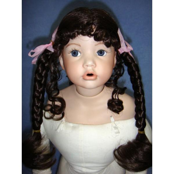 "|Wig - Theresa - 5-6"" Dark Brown"