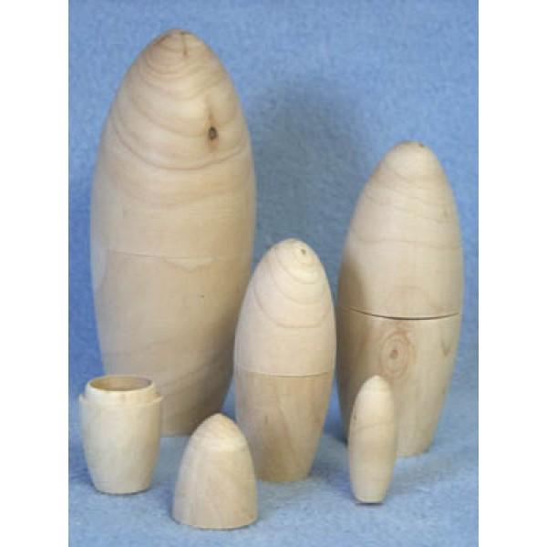 """ Wood - Nested Dolls - 5"""" Box_5"""